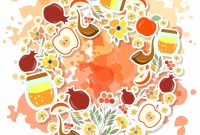 Thanksgiving Place Card Templates Unique Shana tova Card Template by Svetlana Kurako On