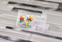 Transparent Business Cards Template Unique Foil Business Cards Plastic Printers Inc