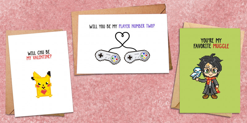Valentine Card Template For Kids New Thrill Your Valentine With These Preciously Nerdy Cards