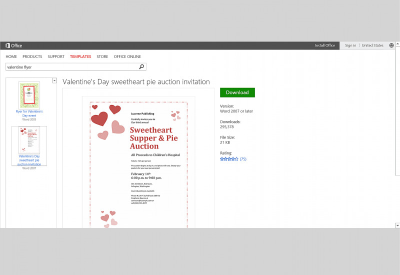 Valentine Card Template Word Awesome Free Valentines Day Templates For Ms Office