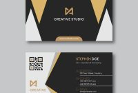 Visiting Card Illustrator Templates Download New Modern Business Card Template Download Free Vectors