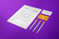Visiting Card Template Psd Free Download Unique Free Us Size Letterhead Business Card Ballpoint Pen