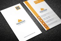 Visiting Card Templates for Photoshop Awesome Simple Vertical Business Card Creative Daddy