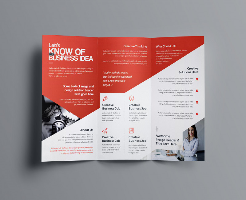 Visiting Card Templates For Photoshop New Aphrodite Business Tri Fold Brochure Template