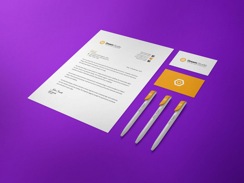 Visiting Card Templates Psd Free Download New Free Us Size Letterhead Business Card Ballpoint Pen