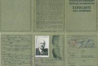 World War 2 Identity Card Template Awesome Kennkarte Wikipedia