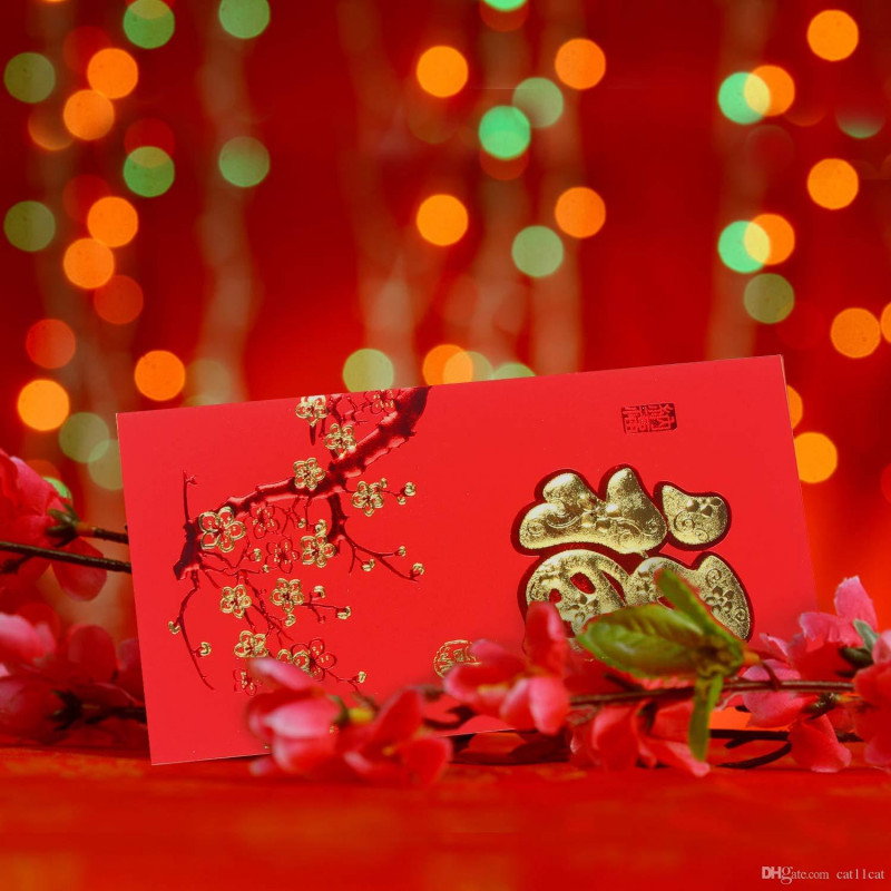 Happy New Year 2021 Greeting Cards New 2020 Red Envelopes For Chinese New Year Envelope Pack Of 29