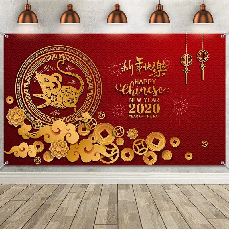 Happy New Year Messages For An Amazing 2021 Unique Chinese New Year Decoration Supplies Large Fabric Happy New Year Backdrop For Spring Festival Party Holiday Eve Celebration Happy New Year 2020 Year