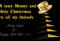 New Year Wishes and Messages for 2021 New Images Of Merry Christmas and Happy 2021 Greeting Cards