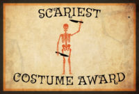 10 Free Costume Award Certificates! [Printables throughout Halloween Costume Certificate
