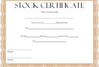 10+ Free Stock Certificate Template Microsoft Word Ideas regarding Best Free 10 Certificate Of Stock Template Ideas