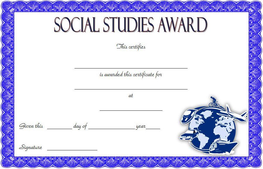 10+ Social Studies Certificate Templates Free Download In Best Social Studies Certificate Templates