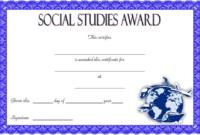 10+ Social Studies Certificate Templates Free Download intended for Best Editable Certificate Social Studies