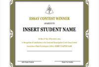 10+ Winner Certificate Templates | Free Printable Word & Pdf In 10 Certificate Of Championship Template Designs Free