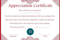 10 Years Service Award Certificate: 10 Templates To Honor in Congratulations Certificate Template 10 Awards