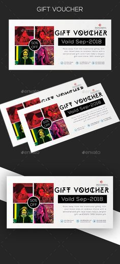 100+ Best Gift Voucher Design Ideas | Voucher Design, Gift In Restaurant Gift Certificate Template 2018 Best Designs