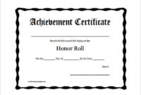11+ Certificate Of Honor Templates | Free Printable Word throughout Honor Award Certificate Templates