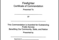 11+ Firefighter Certificate Templates | Free Printable Word in Fresh Firefighter Training Certificate Template