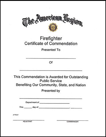 11+ Firefighter Certificate Templates   Free Printable Word In Fresh Firefighter Training Certificate Template