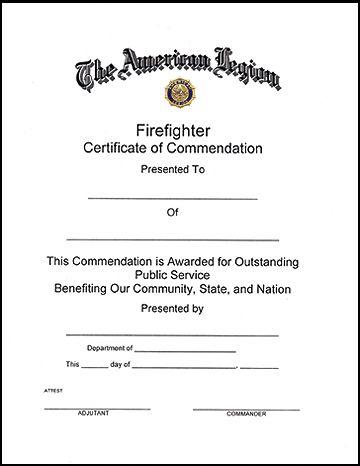 11+ Firefighter Certificate Templates | Free Printable Word Intended For Firefighter Certificate Template Ideas