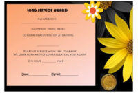12+ Free Long Service Award Certificate Samples (Wordings in Long Service Award Certificate Templates