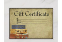 12+ Travel Certificate Examples & Templates [Download Now inside Fresh Travel Gift Certificate Editable