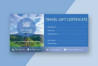 12+ Travel Certificate Examples & Templates [Download Now with regard to Unique Travel Certificates 10 Template Designs 2019 Free