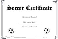 13+ Soccer Award Certificate Examples – Pdf, Psd, Ai intended for Unique Soccer Achievement Certificate Template