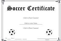 13+ Soccer Award Certificate Examples – Pdf, Psd, Ai pertaining to Soccer Award Certificate Template