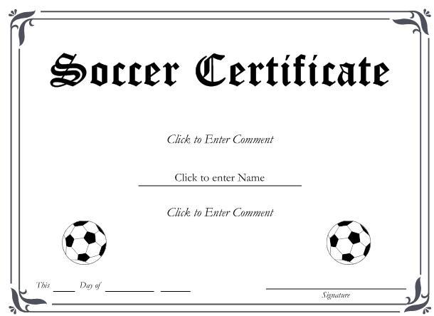 13+ Soccer Award Certificate Examples - Pdf, Psd, Ai Pertaining To Soccer Award Certificate Template