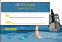 14 Free Printable Fishing Gift Certificate Templates [Best with regard to Fishing Gift Certificate Editable Templates
