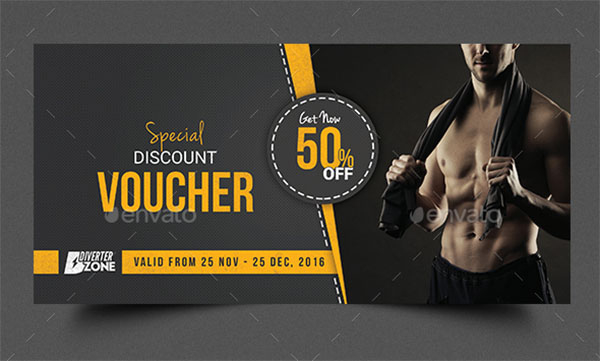 17+ Gym Gift Voucher Templates - Free Photoshop Vector Downloads Throughout Free 10 Fitness Gift Certificate Template Ideas