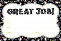 17+ Job Certificate Samples | Free Printable Word & Pdf inside Unique Good Job Certificate Template Free
