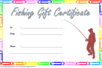17+ Travel Gift Certificate Template Ideas Free intended for Fresh Fishing Certificates Top 7 Template Designs 2019