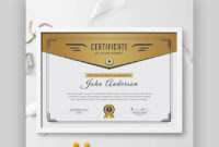 18 Best Free Certificate Templates (Printable Editable pertaining to Most Likely To Certificate Template 9 Ideas
