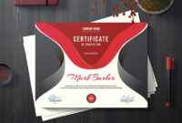 19 Most Creative Certificate Design Templates (Modern Styles inside Best Great Job Certificate Template Free 9 Design Awards