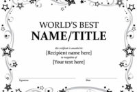20 Best Free Microsoft Word Certificate Templates (Downloads in Honor Certificate Template Word 7 Designs Free