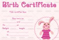 22+ Birth Certificate Templates – Editable & Printable Designs with Best Pet Birth Certificate Template