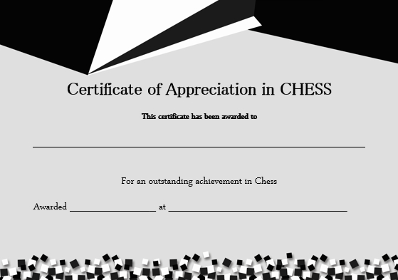 23 Free Printable Chess Certificates You Can Use For Chess Inside Best Chess Tournament Certificate Template Free 8 Ideas