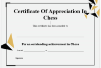 23 Free Printable Chess Certificates You Can Use For Chess pertaining to Best Chess Tournament Certificate Template Free 8 Ideas