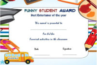 25+ Downloadable And Printable Funny End Of The Year Awards intended for Fresh Bravery Certificate Template 10 Funny Ideas