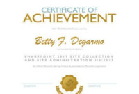 27 Printable Award Certificates [Achievement, Merit, Honor regarding Baseball Certificate Template Free 14 Award Designs