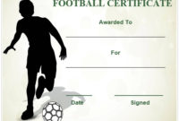 30 Free Printable Football Certificate Templates – Awesome throughout Youth Football Certificate Templates
