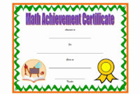 30 Free Printable Math Certificates | Pryncepality In 2020 in Fresh 9 Math Achievement Certificate Template Ideas