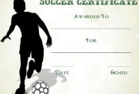 30 Soccer Award Certificate Templates – Free To Download in Soccer Certificate Template Free 21 Ideas