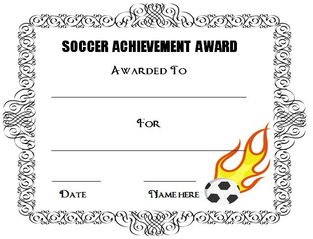 30 Soccer Award Certificate Templates - Free To Download Intended For Best Soccer Award Certificate Template