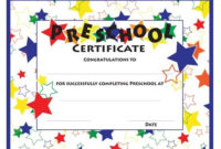 30+ Trends Ideas Kindergarten Graduation Certificate for 10 Kindergarten Graduation Certificates To Print Free