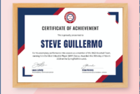 300 Best Certificate Templates 2021 in Unique Physical Fitness Certificate Template Editable
