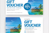40+ Travel Gift Voucher Templates – Free & Premium Psd Eps with regard to Fresh Travel Gift Certificate Editable