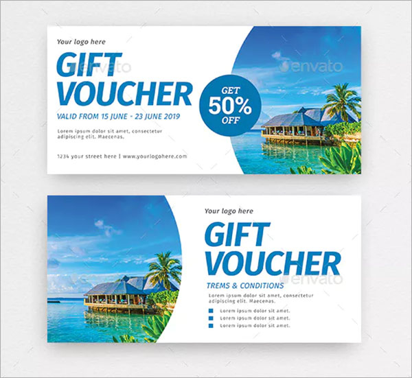 40+ Travel Gift Voucher Templates - Free & Premium Psd Eps With Regard To Fresh Travel Gift Certificate Editable